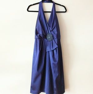 David Meister Dress Size 4 Purple